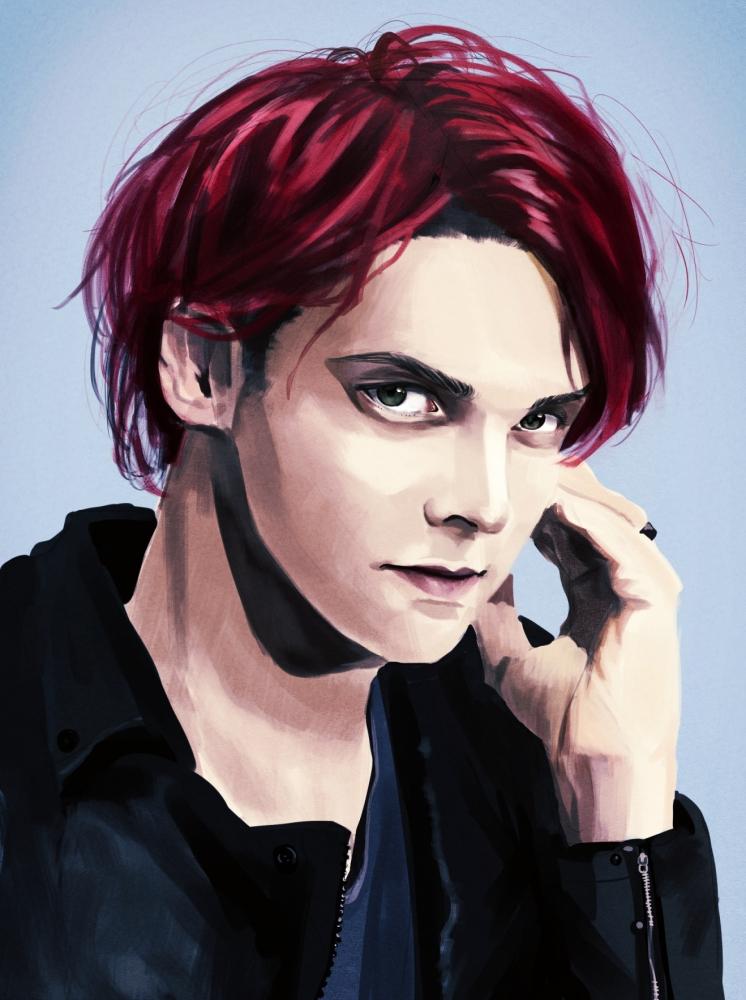 Gerard Way by InabaKoh